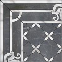 Керамическая плитка  черная под мрамор Kerama Marazzi ID42