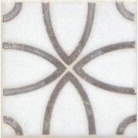 STG\A405\1266 STG/A405/1266 Амальфи орнамент коричневый 9.9*9.9 9.9x9.9