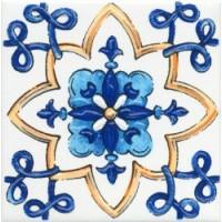 Керамическая плитка  для ванной синяя STGA4525232