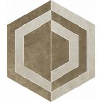 Scratch Beige Heksagon C Mat. 26x29.8