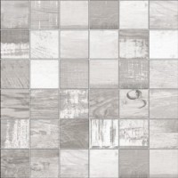 TES76590 Mosaico Chalkwood White Natural 29.75x29.75