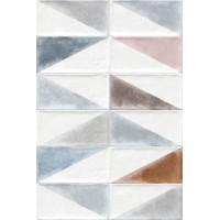 Керамическая плитка  белая под кирпич VIVES 922503