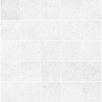23485 D.ALLEY WHITE MOSAIC/25X25