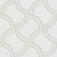 7VF080I Deco Dantan Filet Blanc 10x10