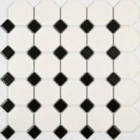 Мозаика  черно-белая PS2356-06 NSmosaic