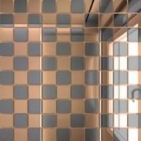 Б50Г50  зеркальная Бронза+Графит 25х25/300x300 30x30