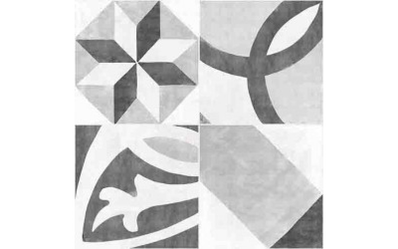 Керамогранит D Apeks серый  42x42 Cersanit AS4R092