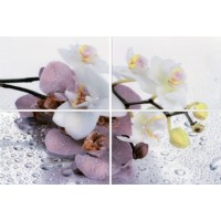 Керамическая плитка  с орхидеями НЗКМ AL-P-ORC