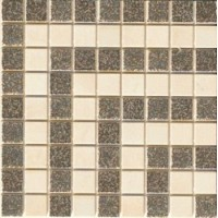 37x70 Vanitas GIROSPECCHIO GRECA BEIGE/SILVER 9,8x8