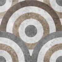 Керамическая плитка  для пола с орнаментом Керамин 1059605