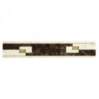 Декоративный элемент (Керамогранит) PERONDA MUSEUM OPALO-BACH-ONICE-ZAR Бордюр C. ZAR-M/P