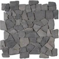GAM3030D17  Dalle Plats Marbre Anthracite 30x30