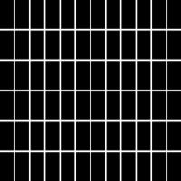 Albir Nero Mozaika (2.3x4.8) 29.8*29.8