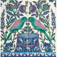 DOFSAMA001 Fresque Samarkand 40x40