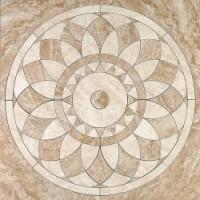 ID30 Триумф розон наборный 84*84 керамический декор