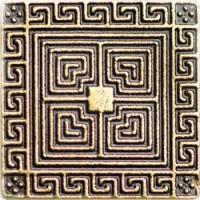 Керамическая плитка  декоративная вставка Kavarti 78795150