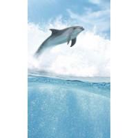 Керамическая плитка для ванной морская волна TES100152 Cerrol