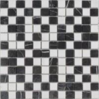 Мозаика  черно-белая Diffusion Ceramique STORN005