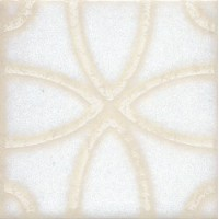 STG/B405/1266 Амальфи орнамент белый 9.9*9.9
