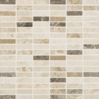 SMBB1A 30.5x30.5x1  Natural Mosaic Brown BeigeRectangular