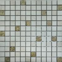NEREA Mosaico Crema-Beige-Gold