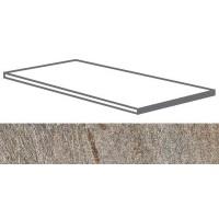 SD02D6A Stone D Quarzite Di Barge Gradone Ang. Assemblato DX Sq. 20mm 30x60