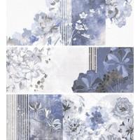 Декор DECOR MILA BLUE (3 PZS MIX) ITT Ceramic