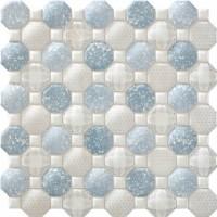 Настенная плитка OXFORD BRICK BLANCO Blau Ceramica