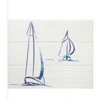 Керамическая плитка Set (3) Wind Blue (комплект 3 плитки) (APE Ceramica)