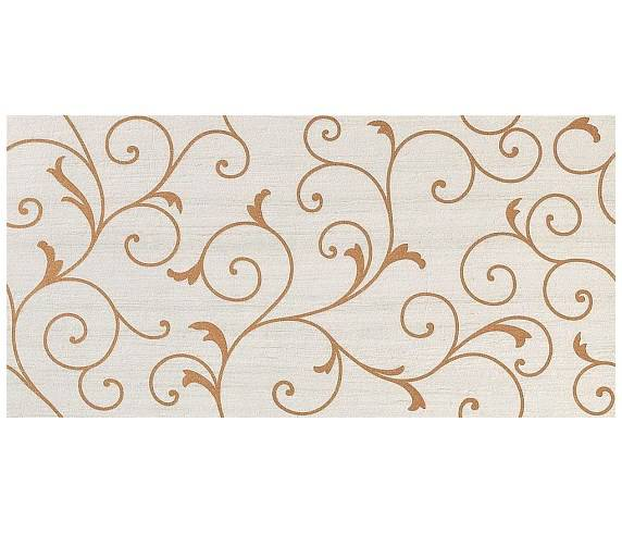 Декор Travertino White Damask