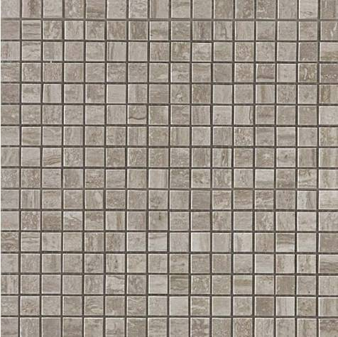 Travertino Silver Mosaico Lappato Полуполированная