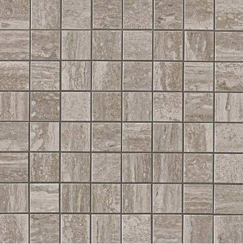 Travertino Silver Mosaico Matt Матовая