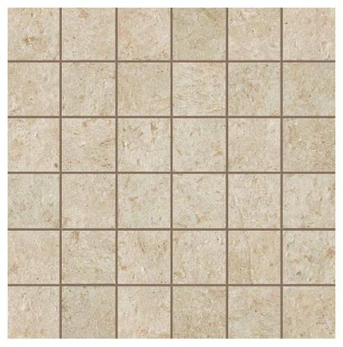 Керамогранитная мозаика Jerusalem Ivory Mosaico Matt 30x30 Atlas Concorde