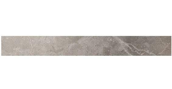 Керамическая плитка бордюр Grey Fleury Listello Lappato полуполированный  Atlas Concorde