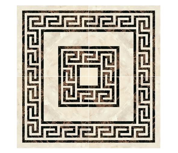 Декоративный элемент (Керамогранит) PERONDA MUSEUM OPALO-BACH-ONICE-ZAR Панно ROS. BEAUTY/P