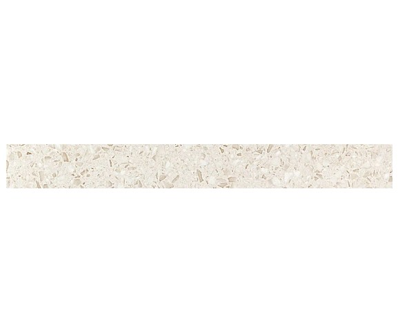 Керамогранитная мозаика бордюр Terrazzo Cream Listello Lapp лаппатированный  Atlas Concorde