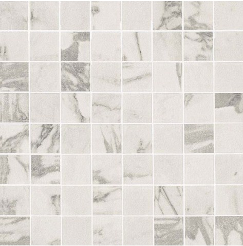 Керамогранитная мозаика Statuario Select Mosaico Matt Матовая 30x30 Atlas Concorde