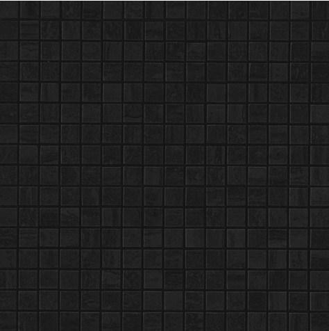 Керамогранитная мозаика Noir St. Laurent Mosaico Lappato Полуполированная 30x30 Atlas Concorde