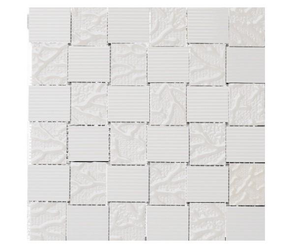Керамическая мозаика PORCELANOSA VETRO Mos. Blanco (Porcelanosa)