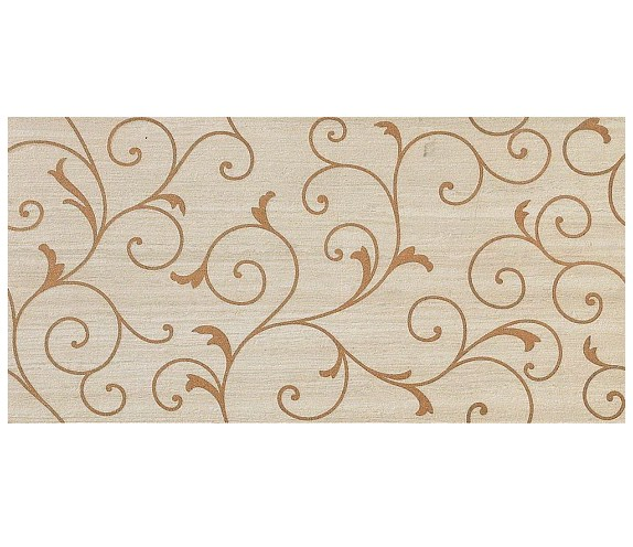 Декор Travertino Almond Damask