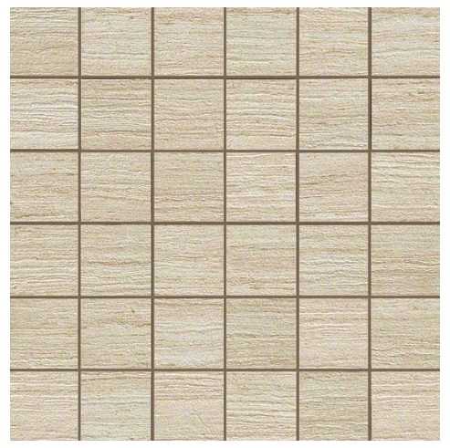 Керамогранитная мозаика Travertino Almond Mosaico Matt 30x30 Atlas Concorde