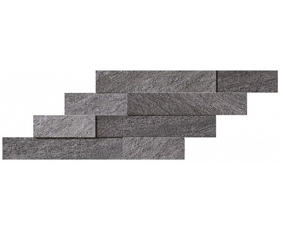 Керамогранит Декор Grey Brick 3D 29x59 Atlas Concorde