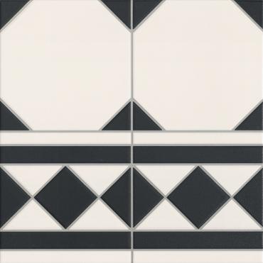 Напольная плитка OXFORD NEGRO CENEFA Realonda Ceramica (Испания)