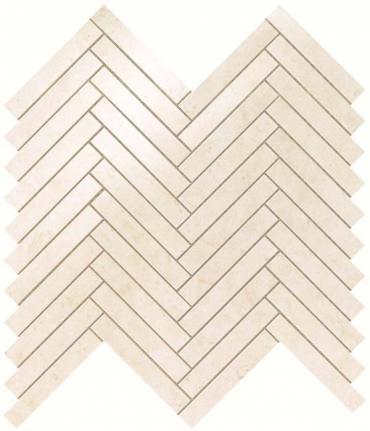 Мозаика НАСТЕННАЯ MARVEL STONE CREAM PRESTIGE HERRINGBONE WALL Atlas Concorde
