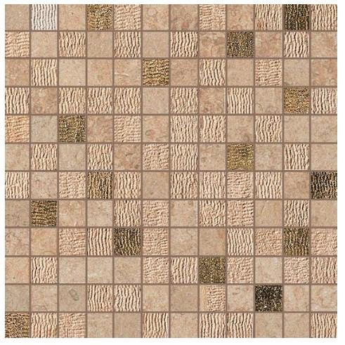 Керамогранитная мозаика Bourgogne Sand Mosaico Gold 30x30 Atlas Concorde