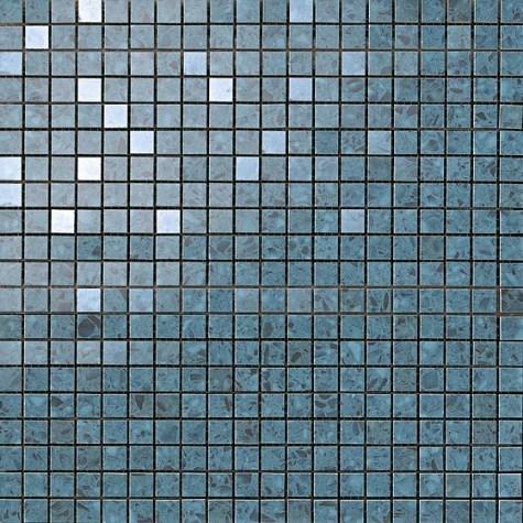 Керамогранитная мозаика Terrazzo Blue Micromosaico 30.5x30.5 Atlas Concorde