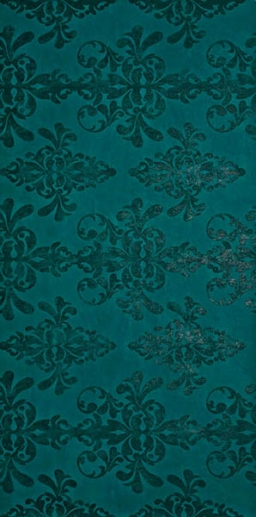 Декор EWALL PETROLEUM GREEN DAMASK Atlas Concorde