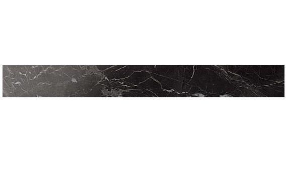 Керамическая плитка бордюр Noir St. Laurent Listello Lappato полуполированный  Atlas Concorde
