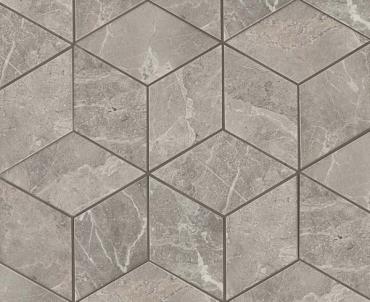 Мозаика MARVEL GREY FLEURY MOS. ESAGONO LAPP. Atlas Concorde