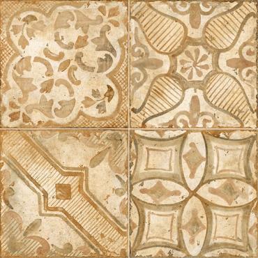 Декор MATERIA DECORO PATCH MIX WARM ROSSO Novabell